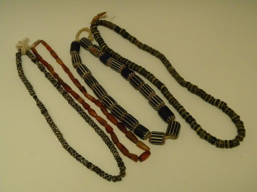7: African Trade Bead Necklaces