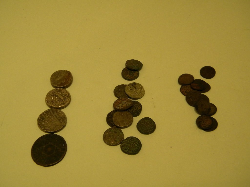 16: Cambodian and Indian coins