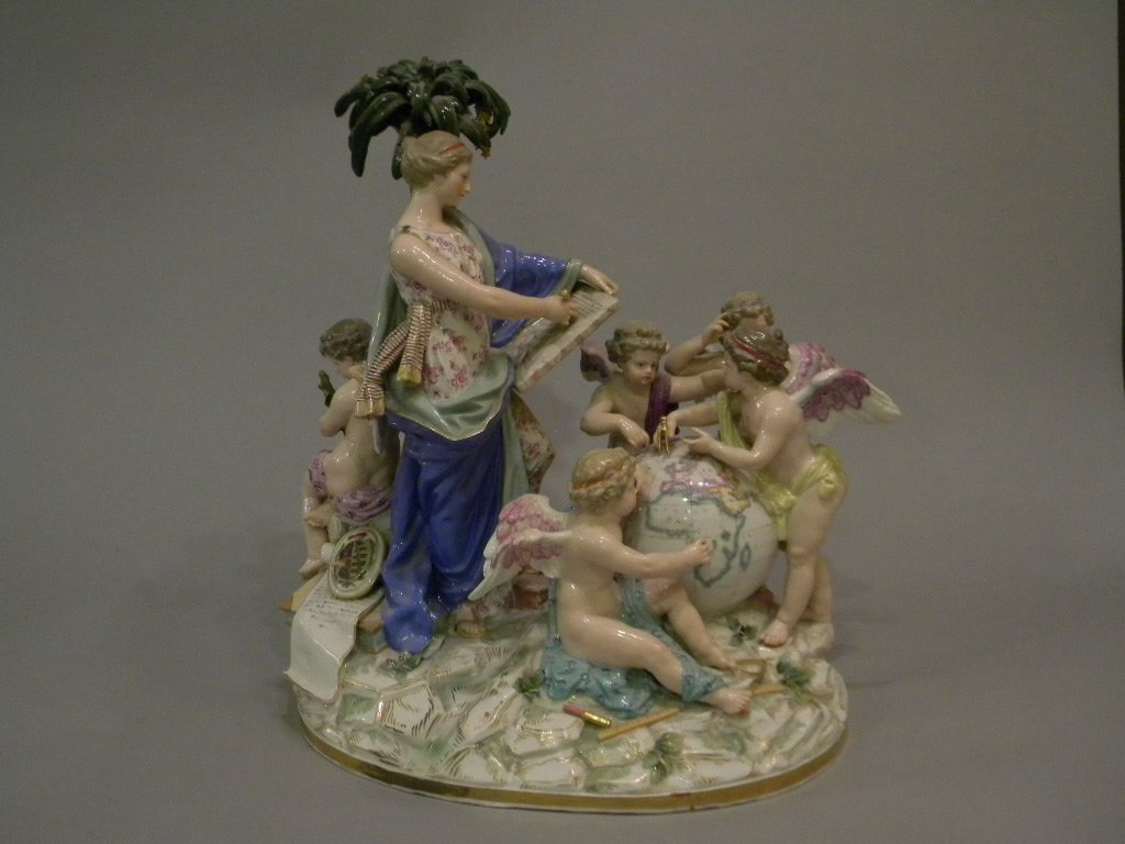 183: Meissen Figural Grouping