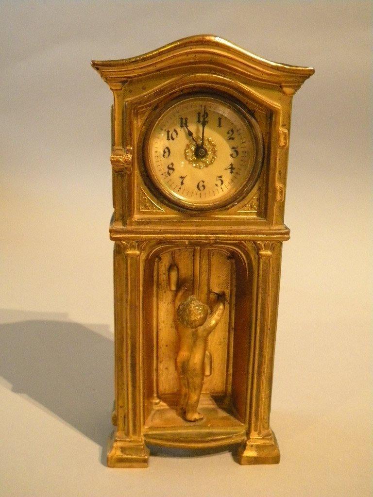 13: Art Nouveau Table Clock