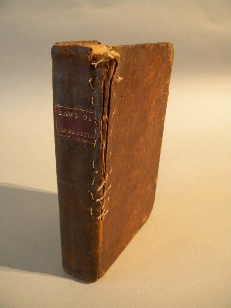 "16: 1788  ""Perpetual Laws of Massachusetts"" first ed"