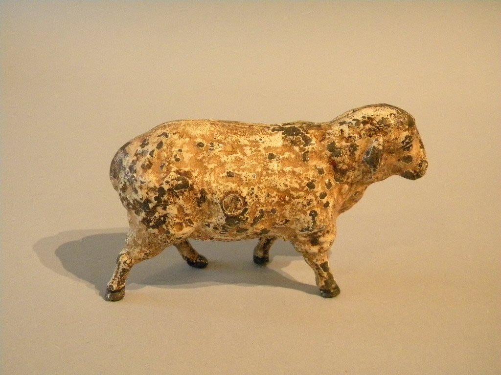 18: 19th Century Iron Sheep Bank