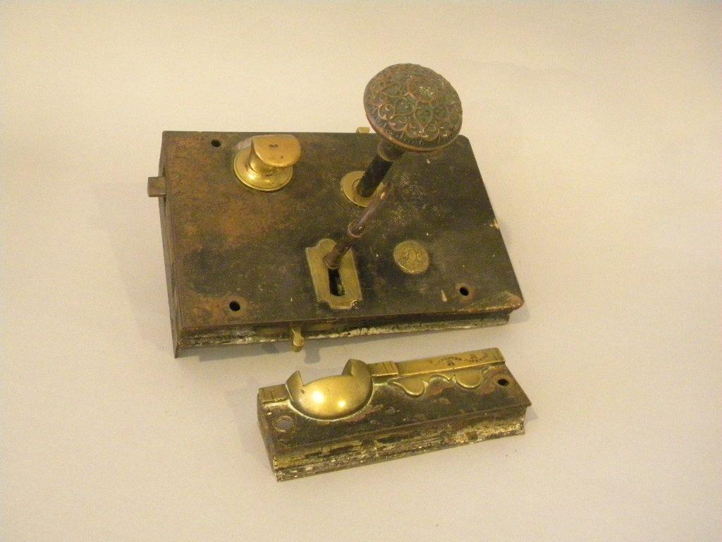 Victorian Carpenter Lock Set