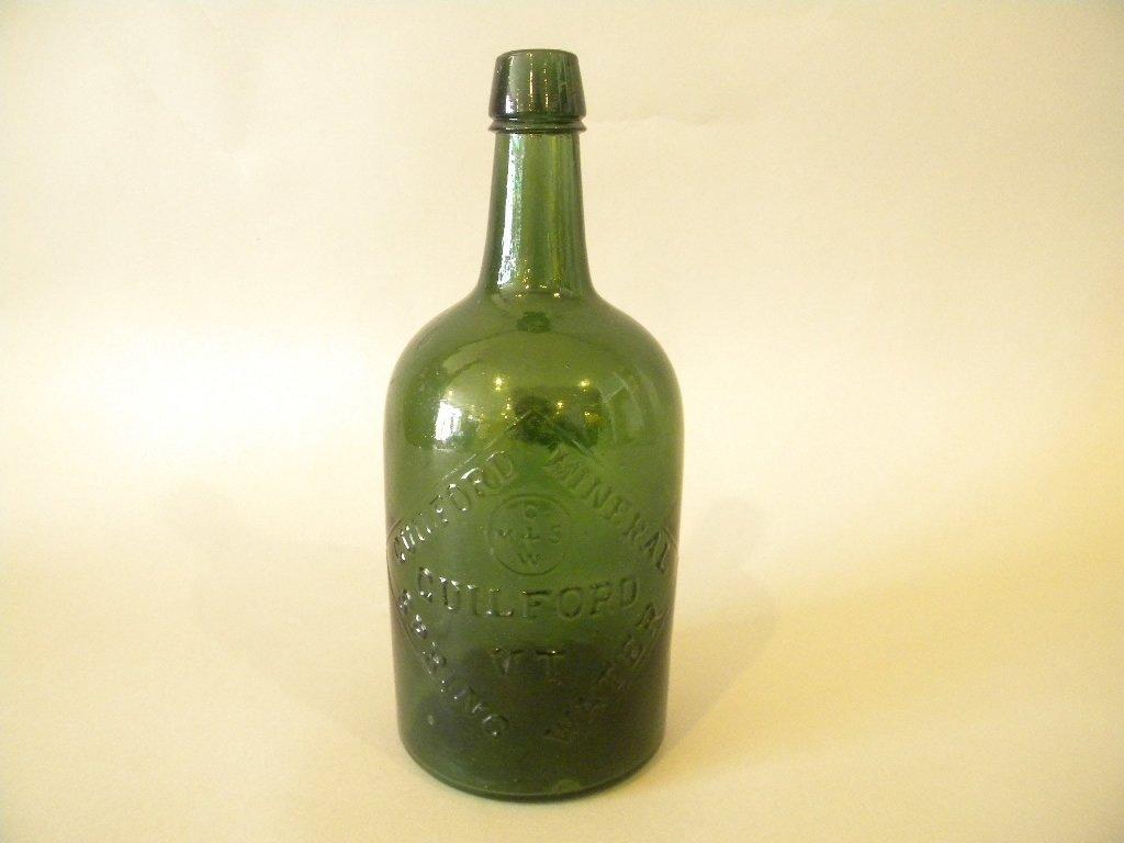 Guilford Mineral Spring Bottle