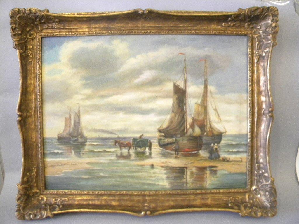 Hans Wacker Elsen oil