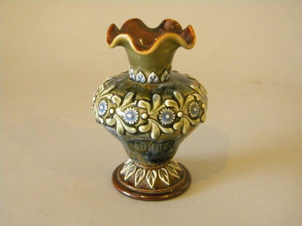Royal Doulton pottery Vase