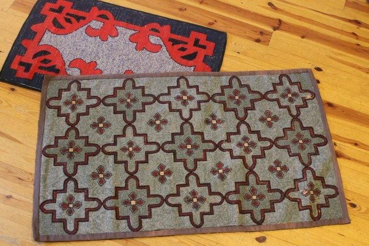 6. 2 Hooked Rugs
