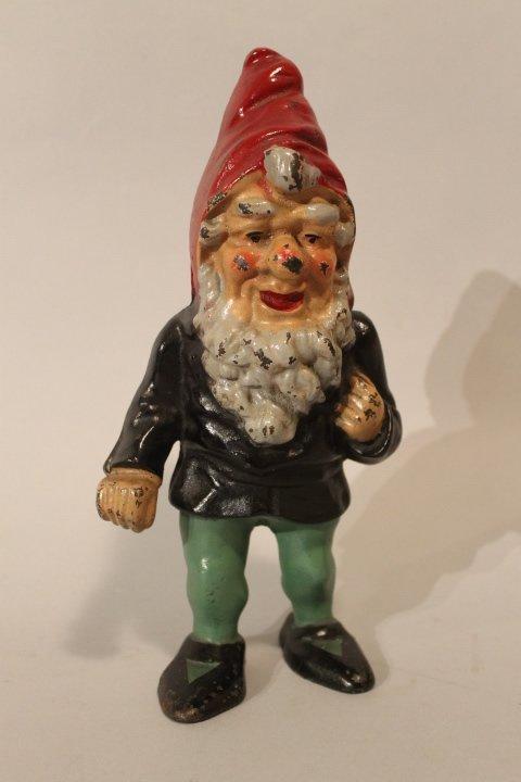 39. Antique Gnome Doorstop