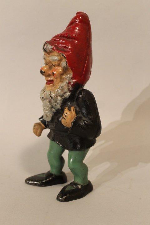39. Antique Gnome Doorstop - 2