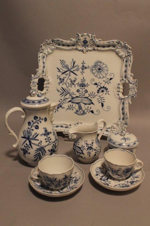 108. Meissen Tea Service