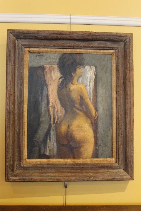 137. Raphael Soyer Oil on Board