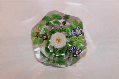 Baccarat, Antique Paperweight, undated