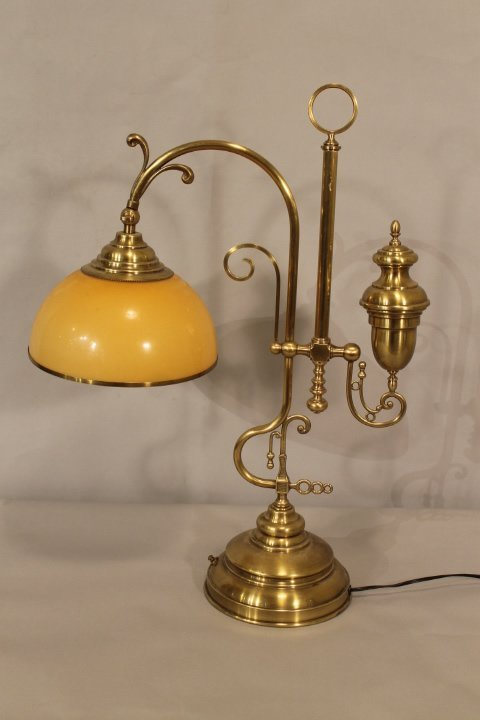Brass Adjustable Students Lamp