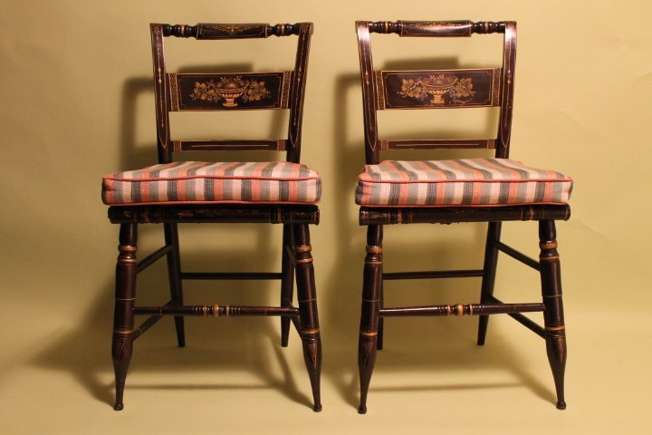 Pr. Of Hitchcock Chairs