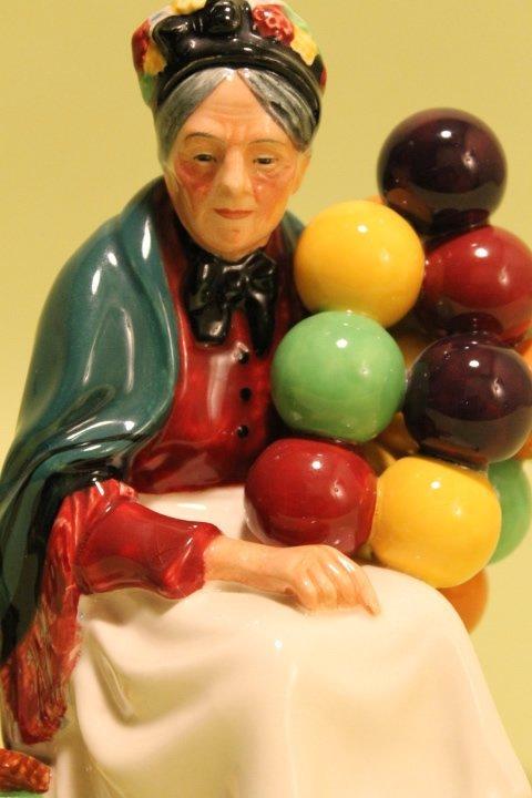 "Royal Doulton ""Balloon Man & Balloon Woman"" - 2"