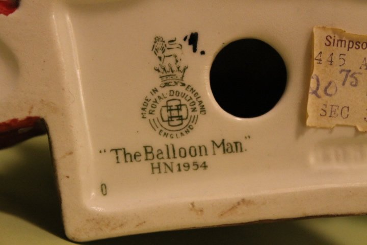"Royal Doulton ""Balloon Man & Balloon Woman"" - 8"