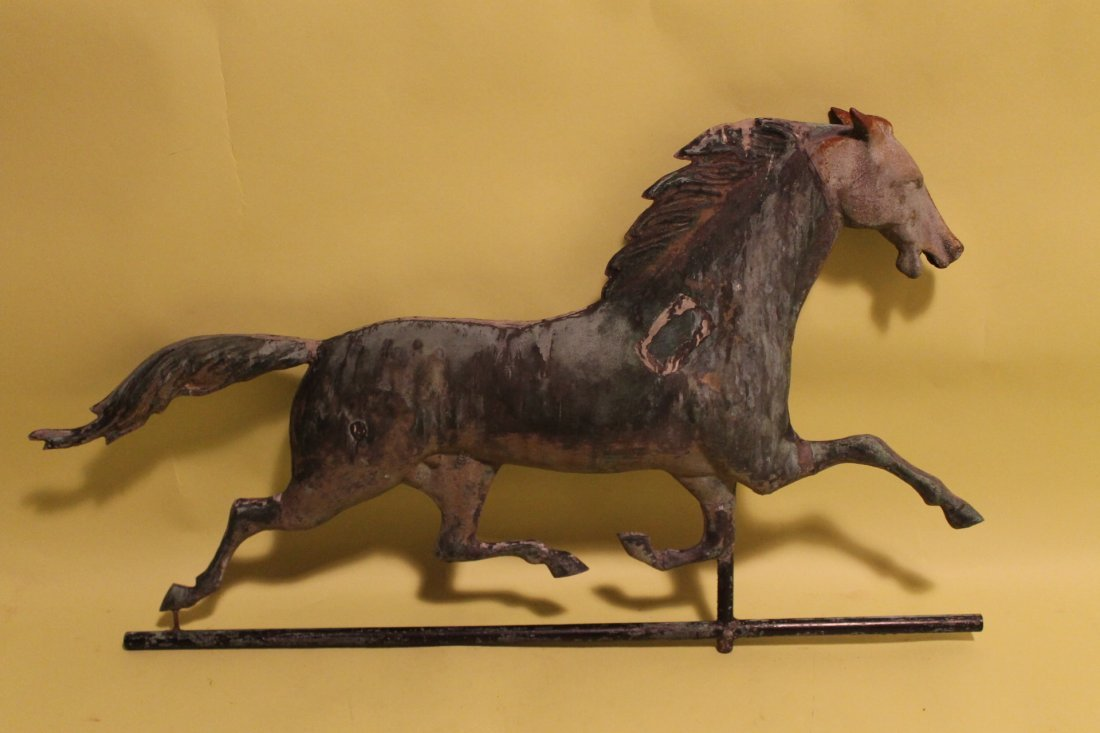 Trotting Horse Weathervane