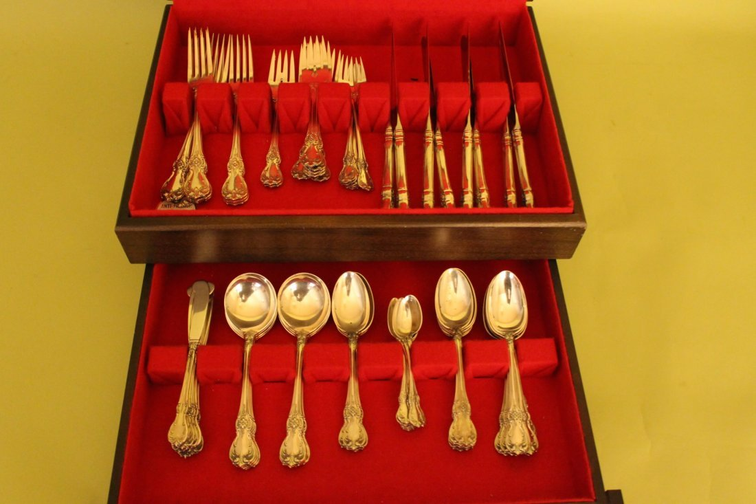 """Towle Sterling Silver Flatware Set """"Old Master"""""""