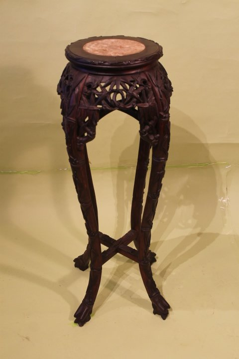 Chinese Marble Top Stand