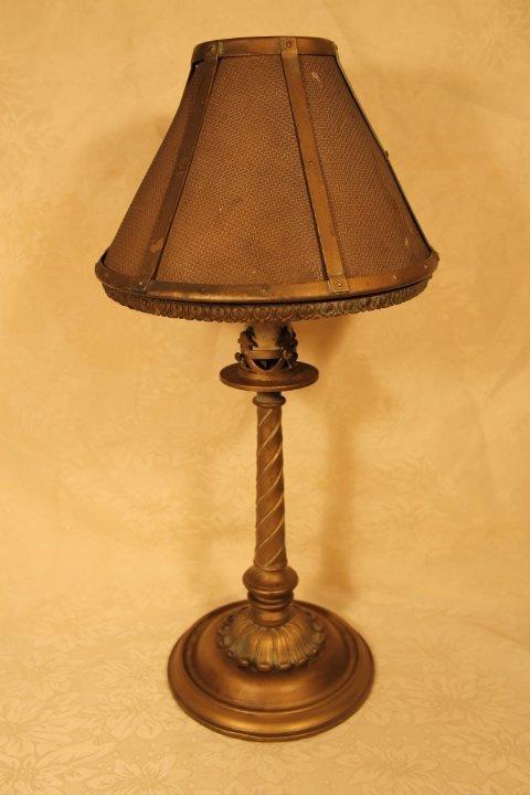 Pullman Lamp with Mesh Shade