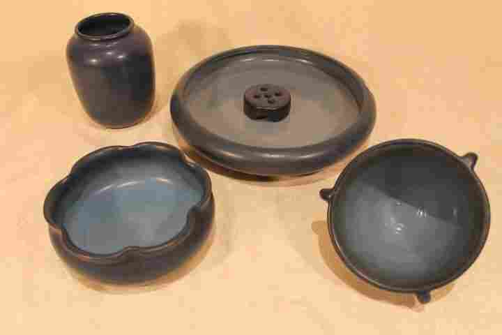 Lot of 5 Pcs of Marblehead Pottery