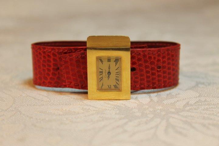 Cartier Ladies Gold Watch