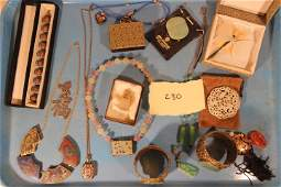 Oriental Lot of of Miscellaneous Jewelry Items