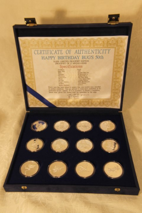 Disney's Bugs Bunny 50th Birthday Set of Coins