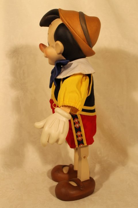 ANRI Wood Carved Pinocchio Sculpture - 3