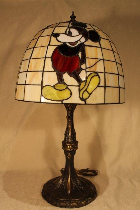 dale tiffany disney table lamp