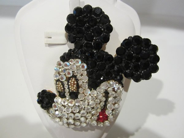 Wendy Gell Disney Mickey Mouse Brooch Pin