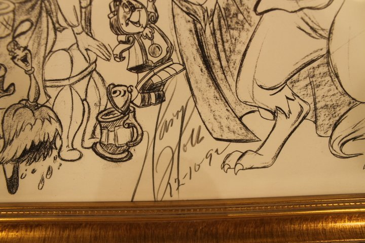 Lot of 4 Disney Sketches by Animator Harry Holt - 3