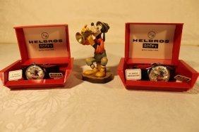 1goofy Anri And 2 Goofy Wrist Watches