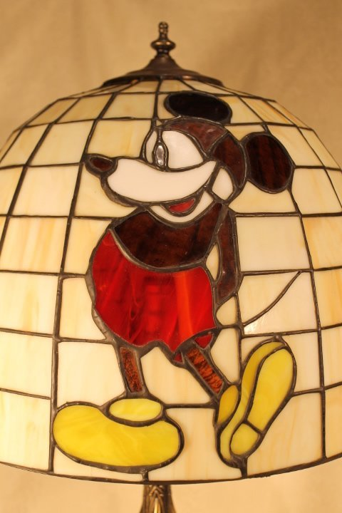 Dale Tiffany Mickey Mouse Table Lamp - 2