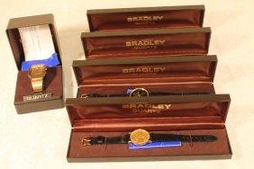 5 Wrist Watches By Bradley
