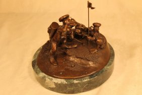 "Disney Chilmark Bronze ""foursome Follies"""