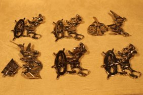 Disney Dimensions Sterling Silver Brooch Pins