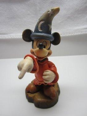 Anri Disney Sorcerer Apprentice Mickey Figure