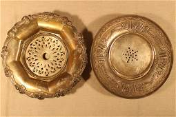 2 Sterling Bowls w/Inserts