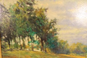 Oil Painting By Paul Hammilton