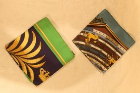 Hermes Silk Scarves (2)