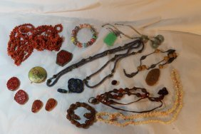 Miscellaneous Lot Of Oriental Jewelry