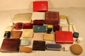 Misc Lot Of Jewelry Boxes