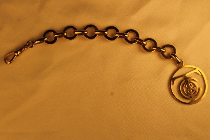 14 kt Gold Watch Fob