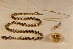3 Pcs of Gold Jewelry
