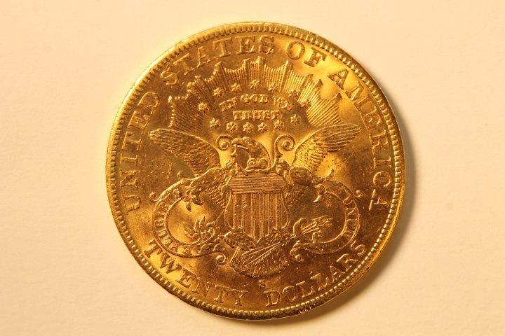 Twenty Dollar US Gold Coin, Encased - 2