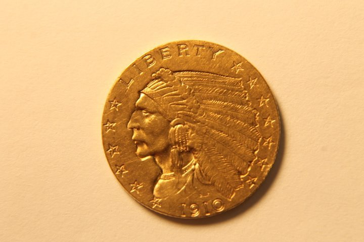 2 1/2 Dollar US Gold Coin