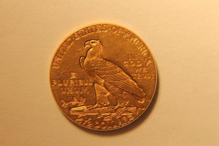 2 1/2 Dollar US Gold Coin - 2