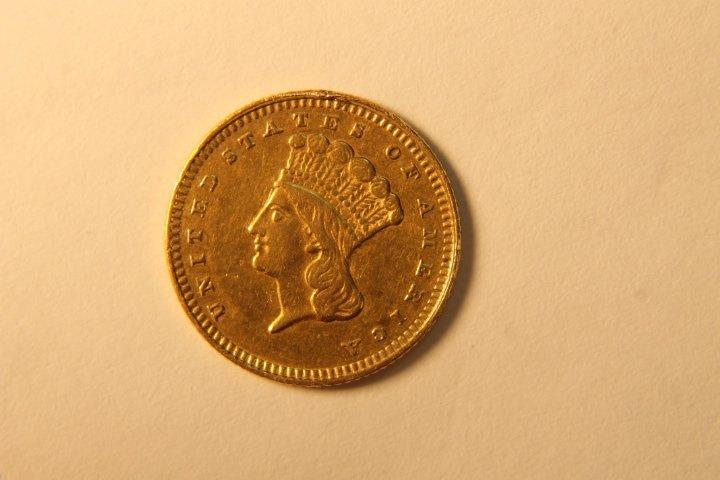 US Indian Princess Head US Gold Coin