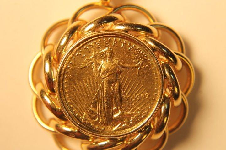 5 Dollar US Gold Coin - 2